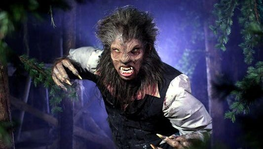 You'll undoubtedly encounter this hairy-handed gent at 13th Floor Haunted House in north Phoenix.