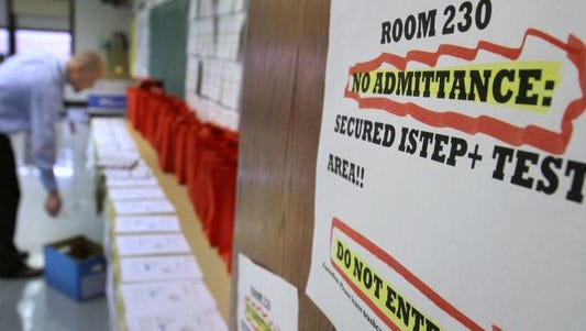 House Bill 1395 began as a required rescore of the 2015 ISTEP, but lawmakers later made it optional and left the decision up to the Indiana State Board of Education. Now, a Senate committee has removed the rescore.