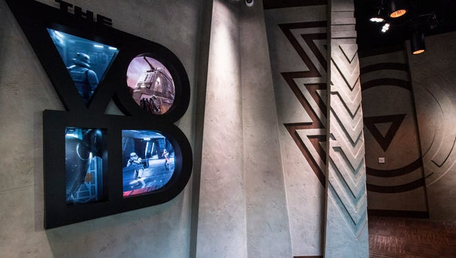 Recently opened in Downtown Disney is the multi-sensory experience Star Wars: Secrets of the Empire.  The virtual-reality experience transports guests deep into the Star Wars universe, allowing them to walk freely and untethered throughout the space.