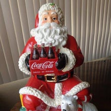 This holiday cookie jar is worth about $250.