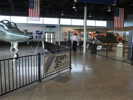 The Jenny To Jet exhibt at the Wichita Falls Regional Airport is an extension of the Museum of North Texas History and features a T-38 jet currently used in training U.S. Air Force pilots at Sheppard Air Force Base and a 1917 Curtiss Jenny biplane. The Jenny is the type used to train pilots for the U.S. Army Air Corp at Call Field during World War I. Robert Seabury was instrumental in creating the exhibit and he will be honored at city council Tuesday with a proclamation naming Robert Seabury Day.