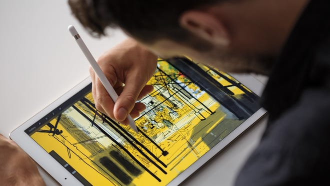 Apple iPad Pro and Apple Pencil