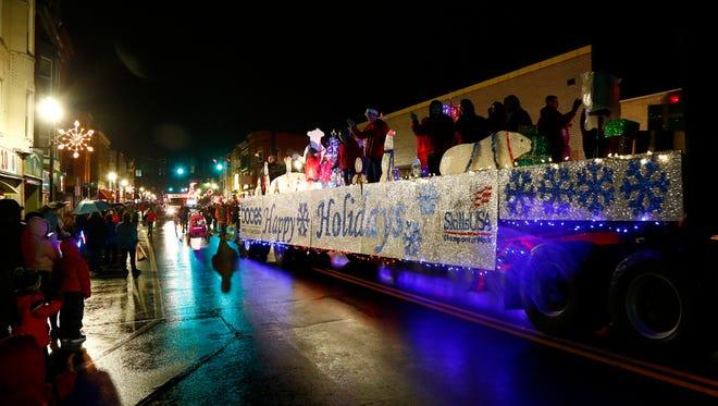 Scenes from the Johnson City Holiday Parade on Thursday, November 30, 2017.