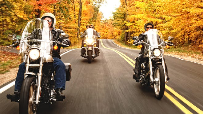 Fall is a perfect time of year to tour some of Wisconsin's best highways and back roads on a motorcycle.