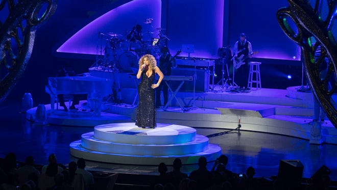 Recording Artist Mariah Carey performs at The Colosseum at Caesars Palace, Wednesday, May 6, 2015, in Las Vegas.