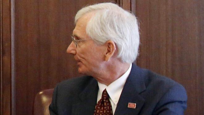 Acting Finance Director Bill Newton