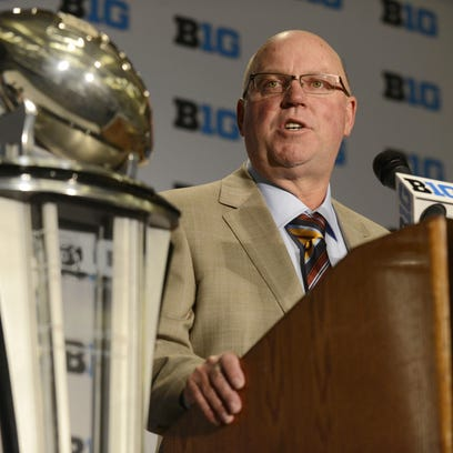 Minnesota head coach Jerry Kill Kill is building the