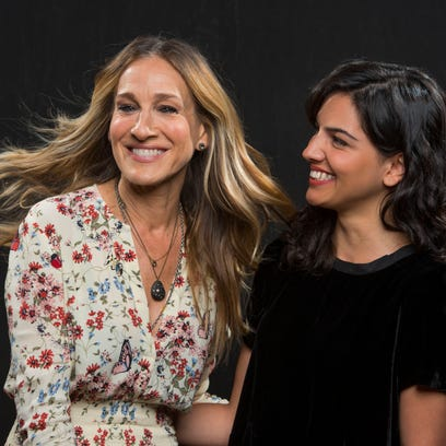 Sarah Jessica Parker and debut author Fatima Farheen