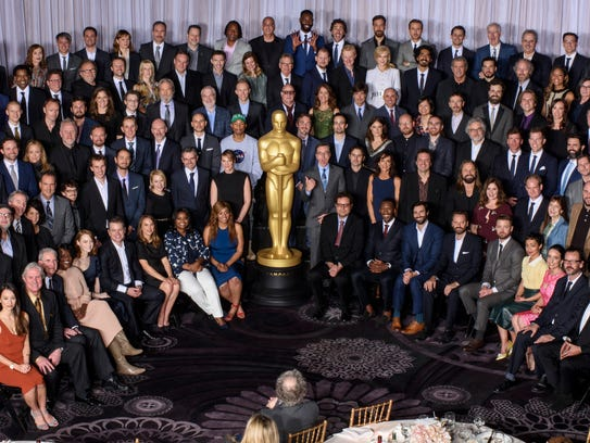 Nominees for the 89th Oscars were celebrated Monday