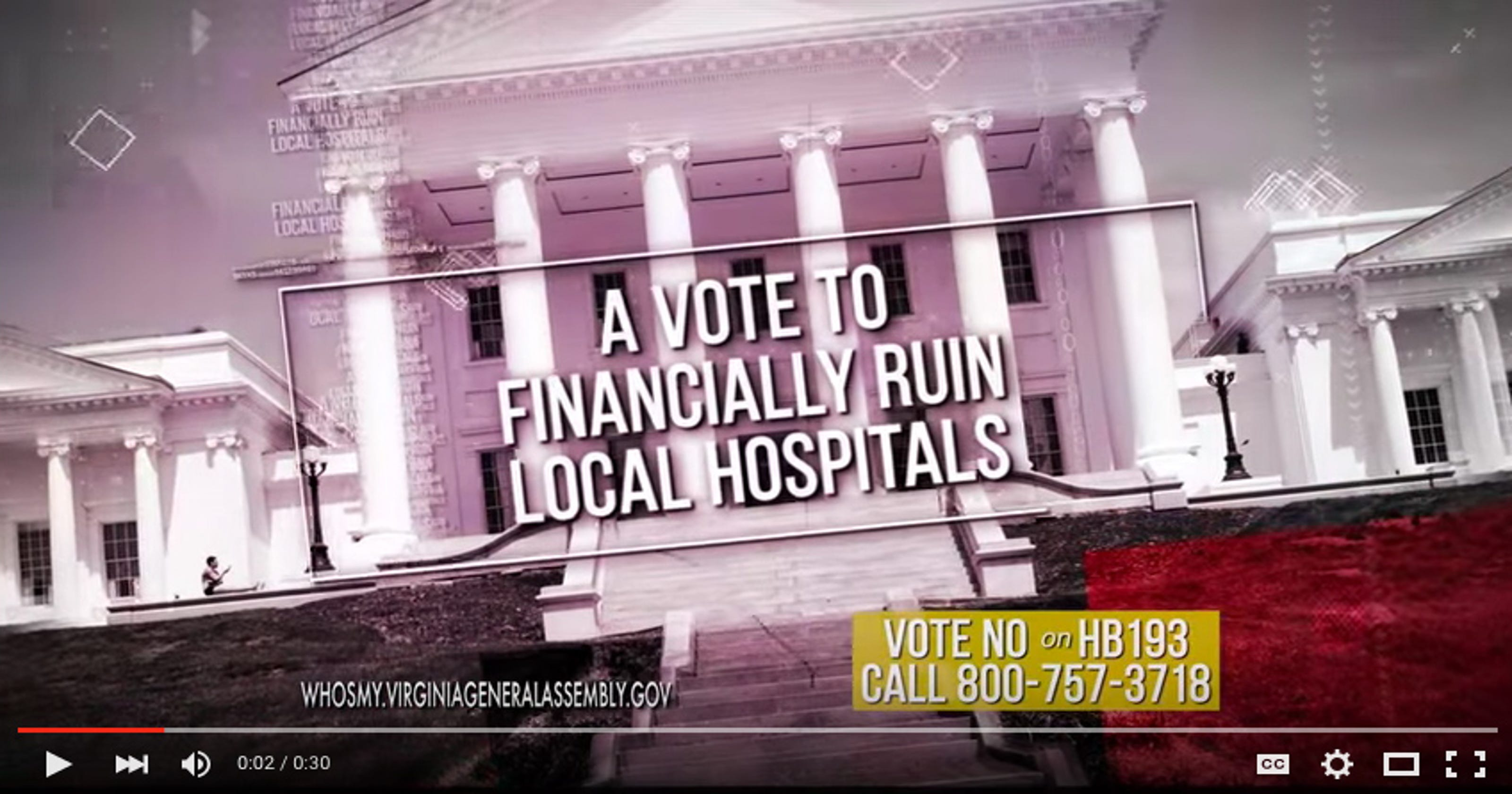 Hospitals pull attack ads after GOP pushback 146458b597e77