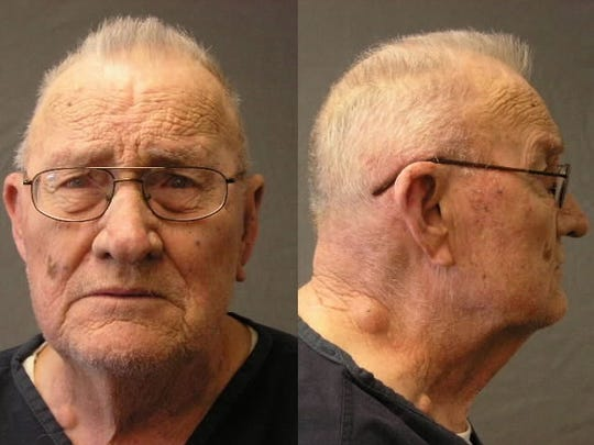 Prison photos of Frank Dryman taken in 2012. Dryman