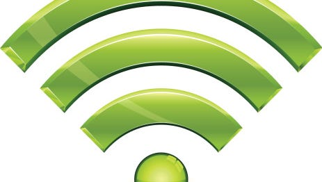 Wi-Fi antennas send signals equally in every direction, so make sure your router is close to the middle of the house.