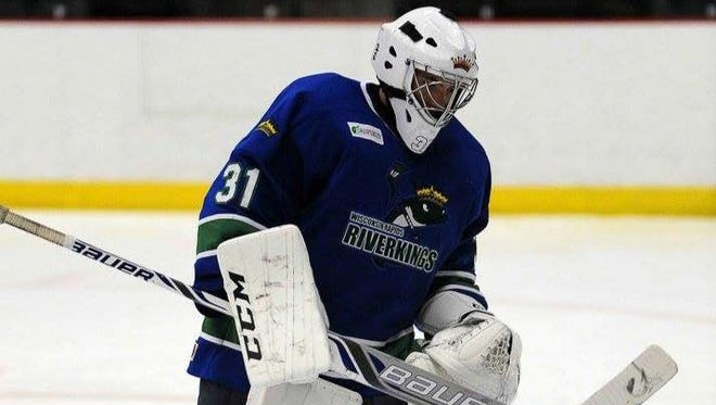 Wisconsin Rapids Riverkings goalie Erik Schuette was named USPHL goalie of the week recently.
