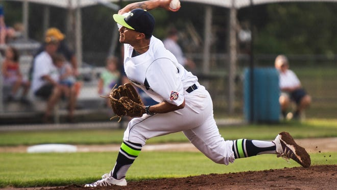 Bravehearts right-hander Angelo Baez struck out 11 in six inning Saturday nigth in a win over the Nashua Silver Knights.