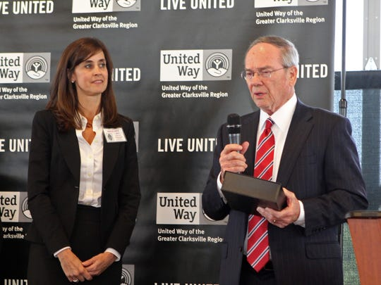 United Way of the Greater Clarksville Region CEO Ginna