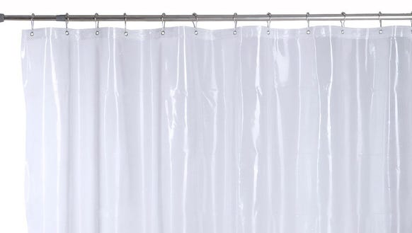 It's time to toss that old, mildewy curtain.