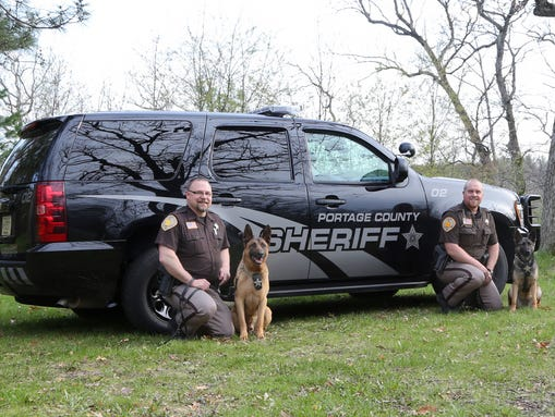 Portage co k 9 unit busier than ever for Department of motor vehicles stevens point wisconsin