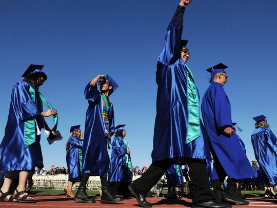 The Oxnard College commencement took place Wednesday