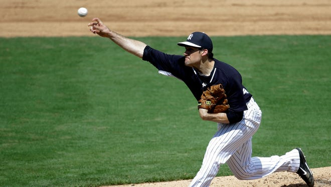 Nathan Eovaldi continued his solid spring training showing with four shutout innings Sunday in the Yankees' win over the Phillies.