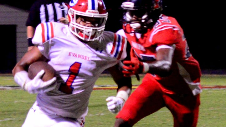 Evangel dominates Parkway in District 1-5A contest
