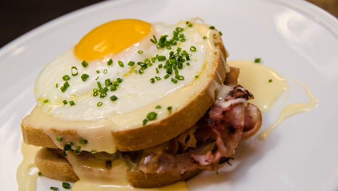 The Croque Madame at Pullman Bar & Diner