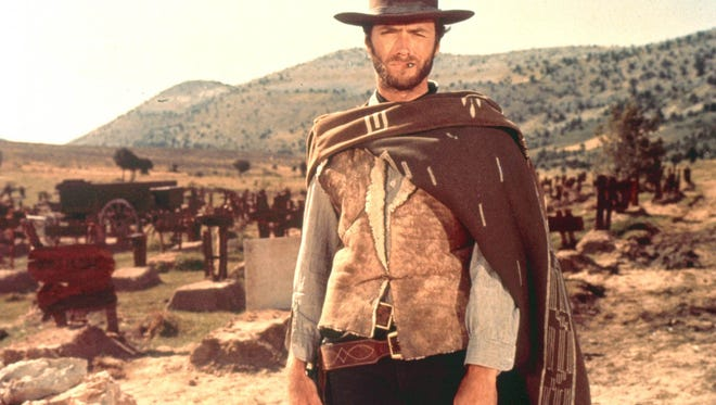 """Clint Eastwood in Sergio Leone's """"The Good, the Bad and the Ugly."""""""