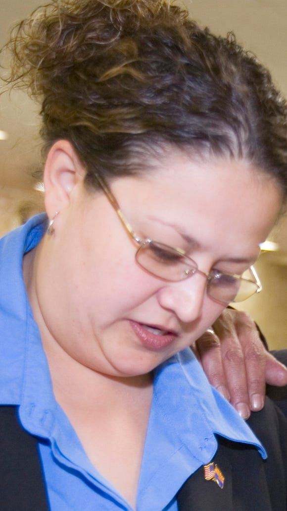 Alexis Tameron, shown in 2005.