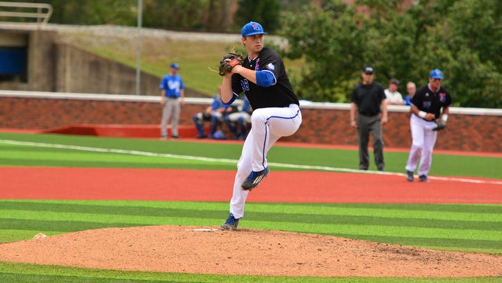 Louisiana Tech pitcher Casey Sutton earned first-team Conference USA honors Tuesday. Sutton leads C-USA with a 1.43 ERA.
