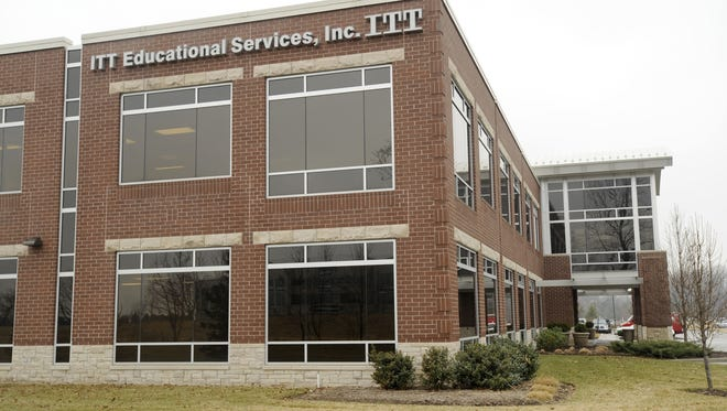 Carmel-based ITT Educational Services Inc. filed for bankruptcy Friday.