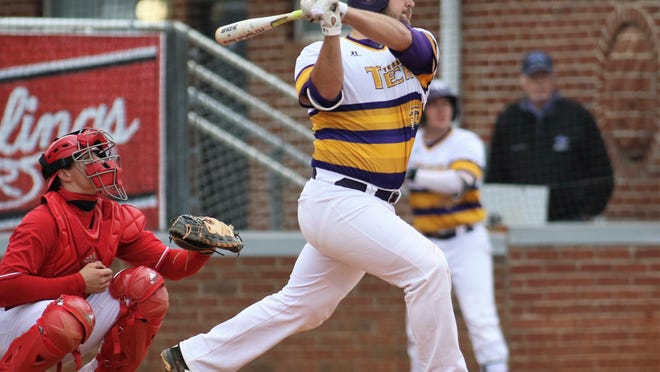 Tennessee Tech's  Chase Chambers is hitting .404 with 17 home runs and 82 RBIs this season.