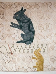"""From """"Pattern Recognition: New Works by Jennifer Sargent"""""""