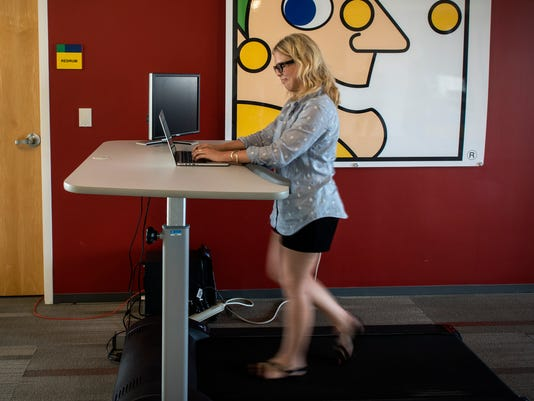 'Active workstations' make fitness part of the job