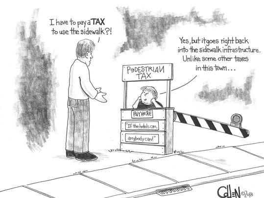 Pedestrian Tax