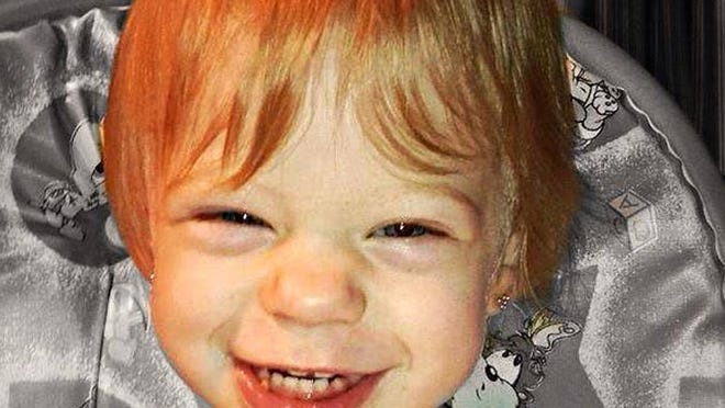Two-year-old Dezirae Sheldon of Poultney died of a skull fracture in February, according to an autopsy.
