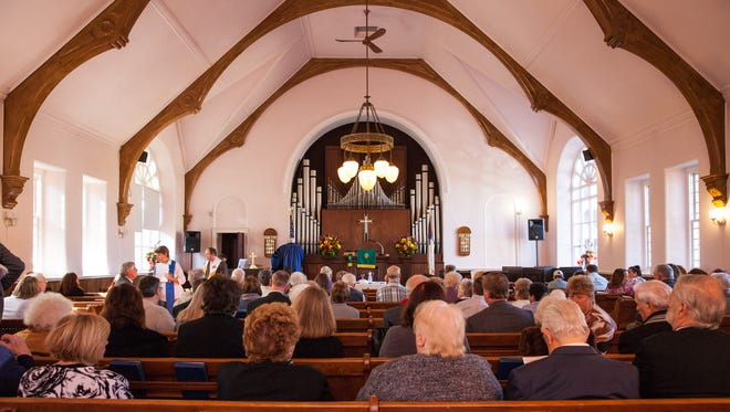 Greenbush Presbyterian Church in Blauvelt closes its doors after 204 years of service to the community. Final service was held on Sunday, October 23, 2016.
