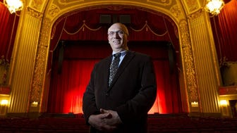 Brett Batterson has taken the helm of the Orpheum Theatre and Halloran Centre for Performing Arts & Education.