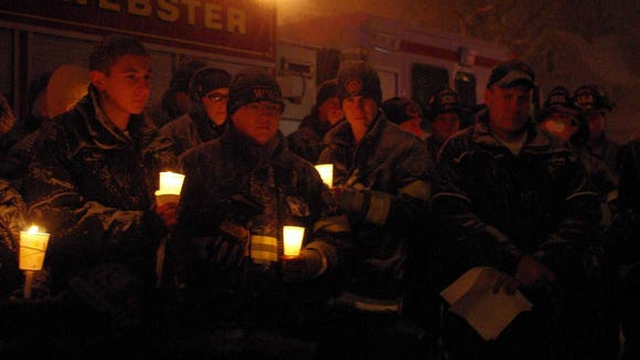 West Webster firefighters are mourned.