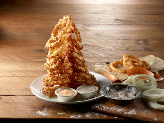 Onion rings from Cheddar's Scratch Kitchen