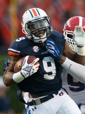 Auburn running back Roc Thomas' role is expected to expand in teh second half of the season.