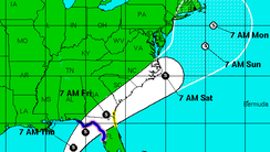 A tropical system is expected to bring significant