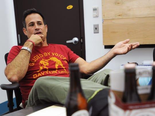 Sam Calagione, founder of Dogfish Head Craft Brewery