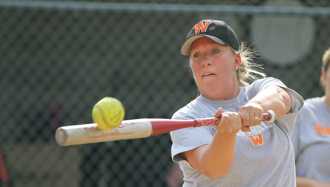 """Waterloo softball coach Christal Kent was the second winner of our """"Coaches Who Care"""" award."""