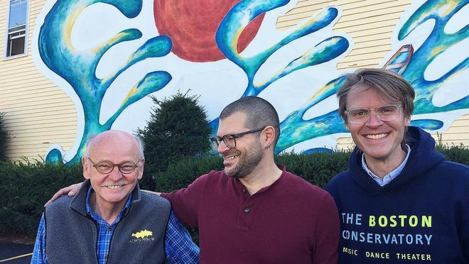 Gene Arnould, Jeremey Barnett and Peyton Pugmire had an idea for huge display of public art and Sunday, Sept. 20, 2020, it came to fruition.