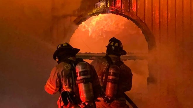 The Chatham Commission is discussing options to shore up the finances of Chatham Emergency Services, a subscription-based fire department serving unincorporated Chatham County.