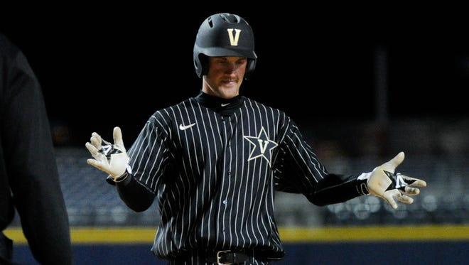 Vanderbilt infielder Julian Infante was named to the league's preseason first team.