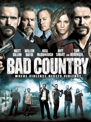 "Matt Dillon and Willem Dafoe anchor the cast for the crime drama ""Bad Country."""
