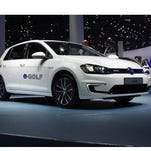 The electric Volkswagon e-Golf is about city mobility, not blistering performance.