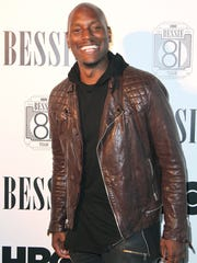 Tyrese Gibson, seen here at an HBO event in May, will