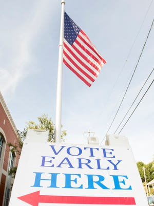 More than 110,000 early ballots were cast in Escambia and Santa Rosa counties during the early voting period.