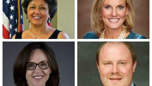 Kathleen Passidomo, R-Naples, Rep. Heather Fitzenhagen, R-Fort Myers, Sen. Lizbeth Benacquisto and Rep. Matt Caldwell, R-North Fort Myers